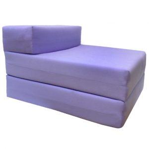 folding foam chair lilac