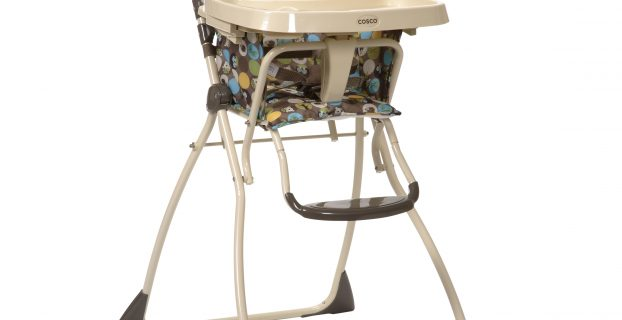 folding high chair awv cosco flat fold high chair into the