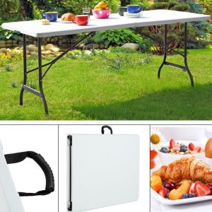 folding table and chair set table pliante cm