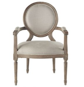 french provincial chair wisteria xvi end chair