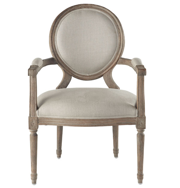 french provincial chair