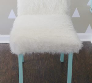 fur desk chair diy whimsical faux fur office chair makeover mountainmodernlife com