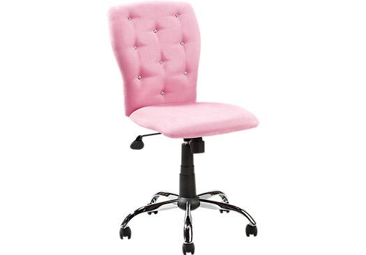 fur desk chair