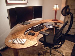 gamers chair for sale extraordinary curved office desk curved gaming desk wooden desk monitor chair keyboard mouse pen book rug lamp white wall wooden floor