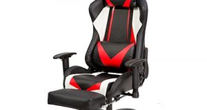 gaming chair with footrest opyxel