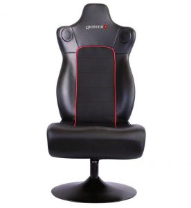 gaming chair with speakers gioteck front