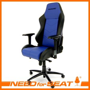 gaming computer chair dominator blue