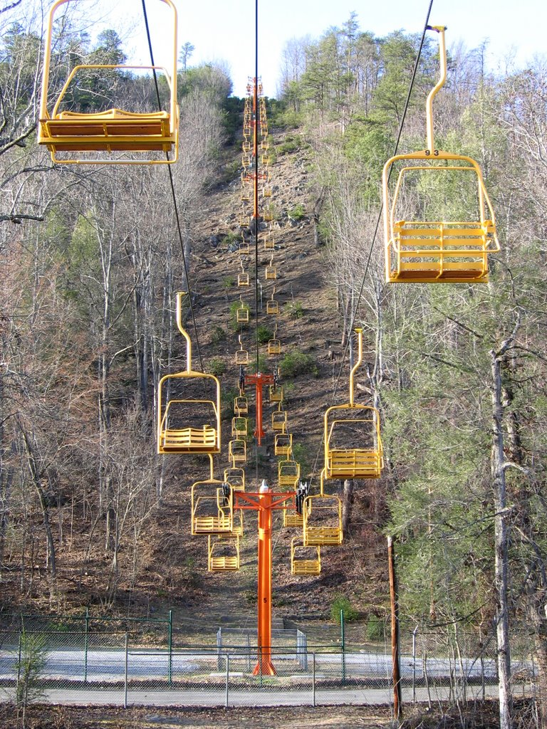 gatlinburg chair lift