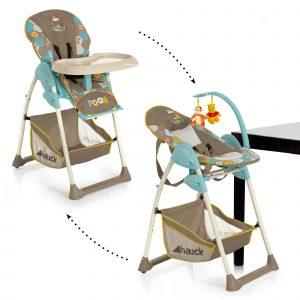 giraffe high chair hau main sit n relax pooh spring in the wood beige