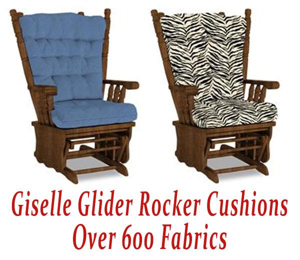 glider rocking chair cushions
