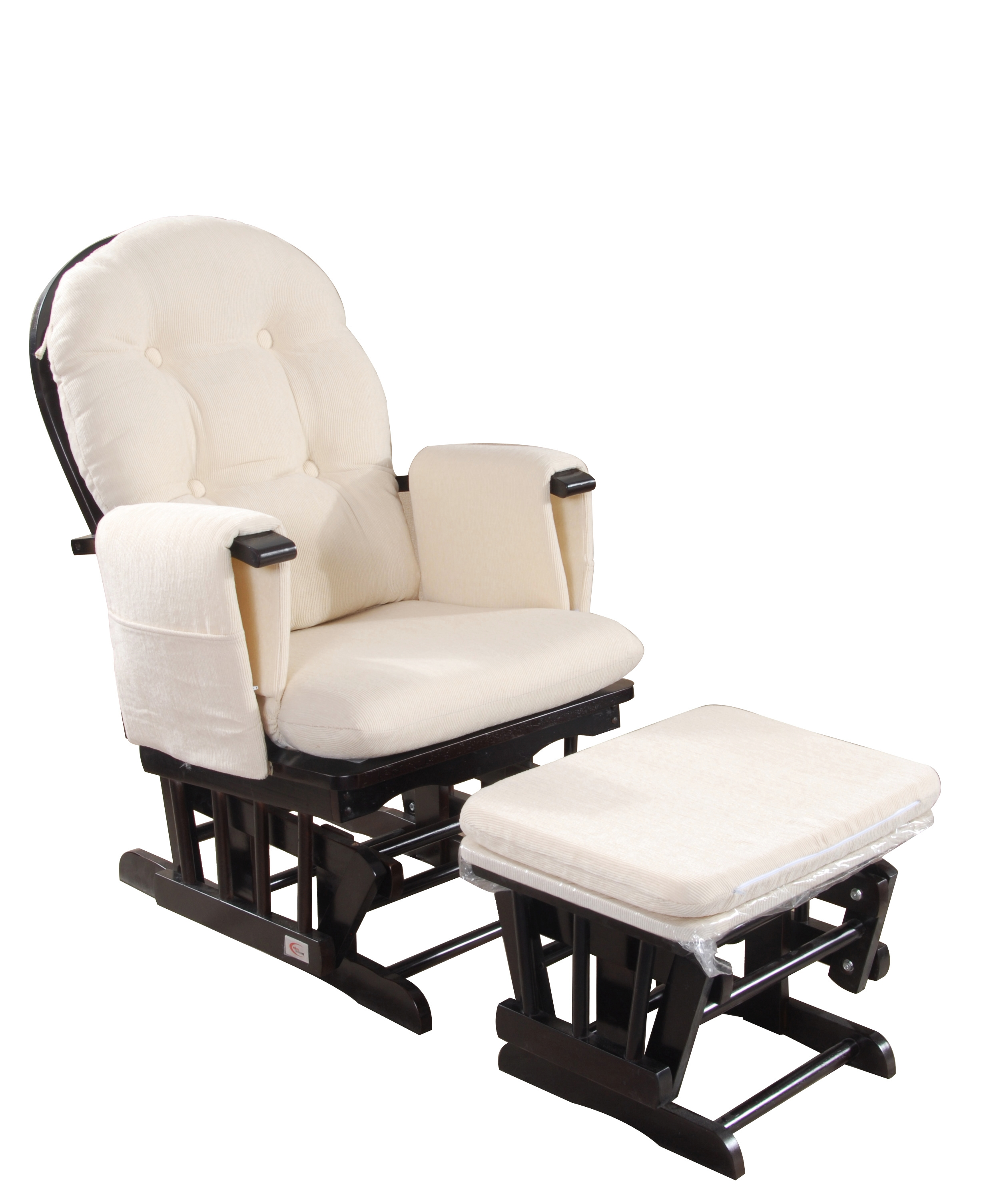 canada chair with gliders and cushions info reclining rocking bongobongo ottoman rocker nursing chairs replacement glider