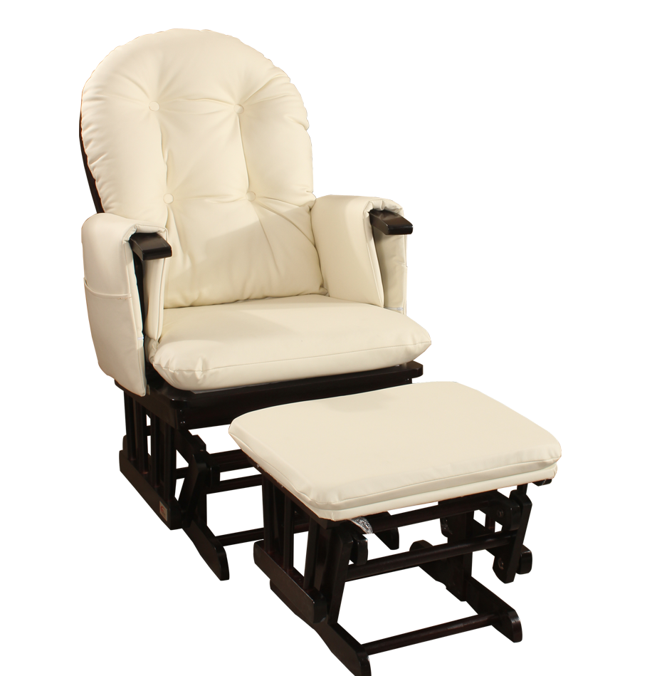 glider baby recall decoration rocking ottoman espresso gallery chairs chair chocolate walmart and rocker best cushions relax com with home