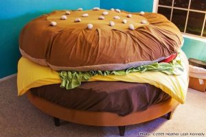 gold chair covers hamburger bed