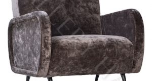 gray velvet chair s l