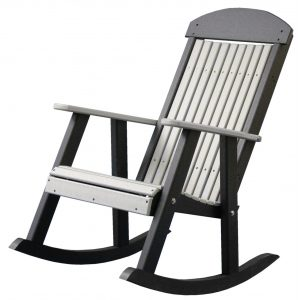 green office chair luxcraft poly porch rocking chair