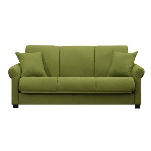 green velvet chair portfolio rio convert a couch apple green linen futon sofa sleeper adac b eb ab edabb