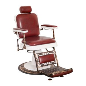 hair salon chair king barber chair oxblood red la lg