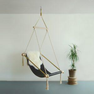 hanging chair indoor ovis hanging chair