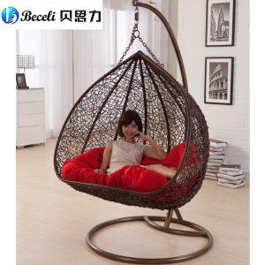 hanging chair indoor swing rocking chair indoor outdoor balcony casual rattan hanging chair double hanging basket
