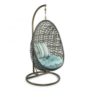 hanging wicker chair egg shaped hanging chair