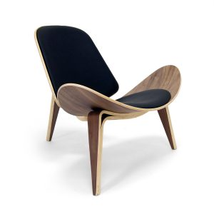 hans wegner chair brugliera mid century chair