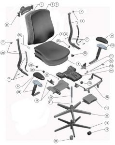 herman miller celle chair herman miller celle chair parts authorized retailer and warranty in office chair replacement parts