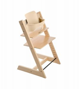 high back chair cushions stokke tripp trapp high chair baby set natural