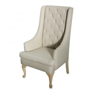 high back chair oatmeal high back chair