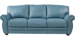 high back leather chair lr sof martello blue~martello blue leather sofa
