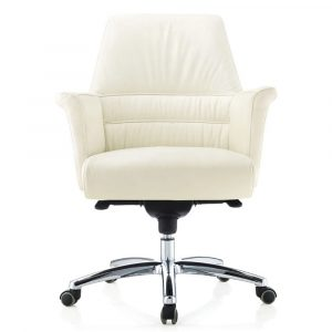 high backed leather office chair geffen genuine leather aluminum base office chair white