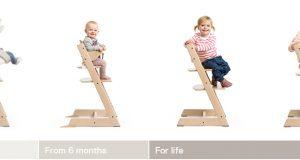 high chair baby grow tripptrapp