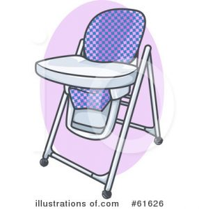 high chair booster seat royalty free high chair clipart illustration