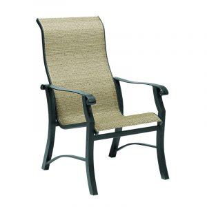 highback patio chair h