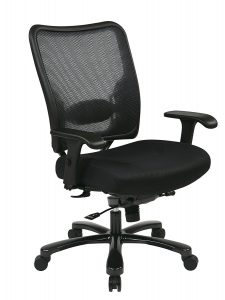 hon office chair space seating double airgrid big and tall managers chair