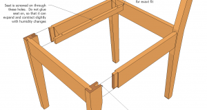 how to build an adirondack chair assembly