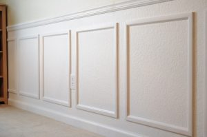 how to install chair rails molding x