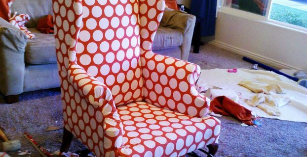 how to reupholster a wingback chair wingback chair