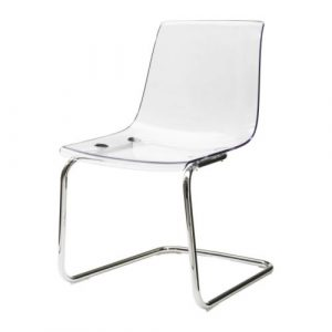 ikea clear chair tobias chair pe s