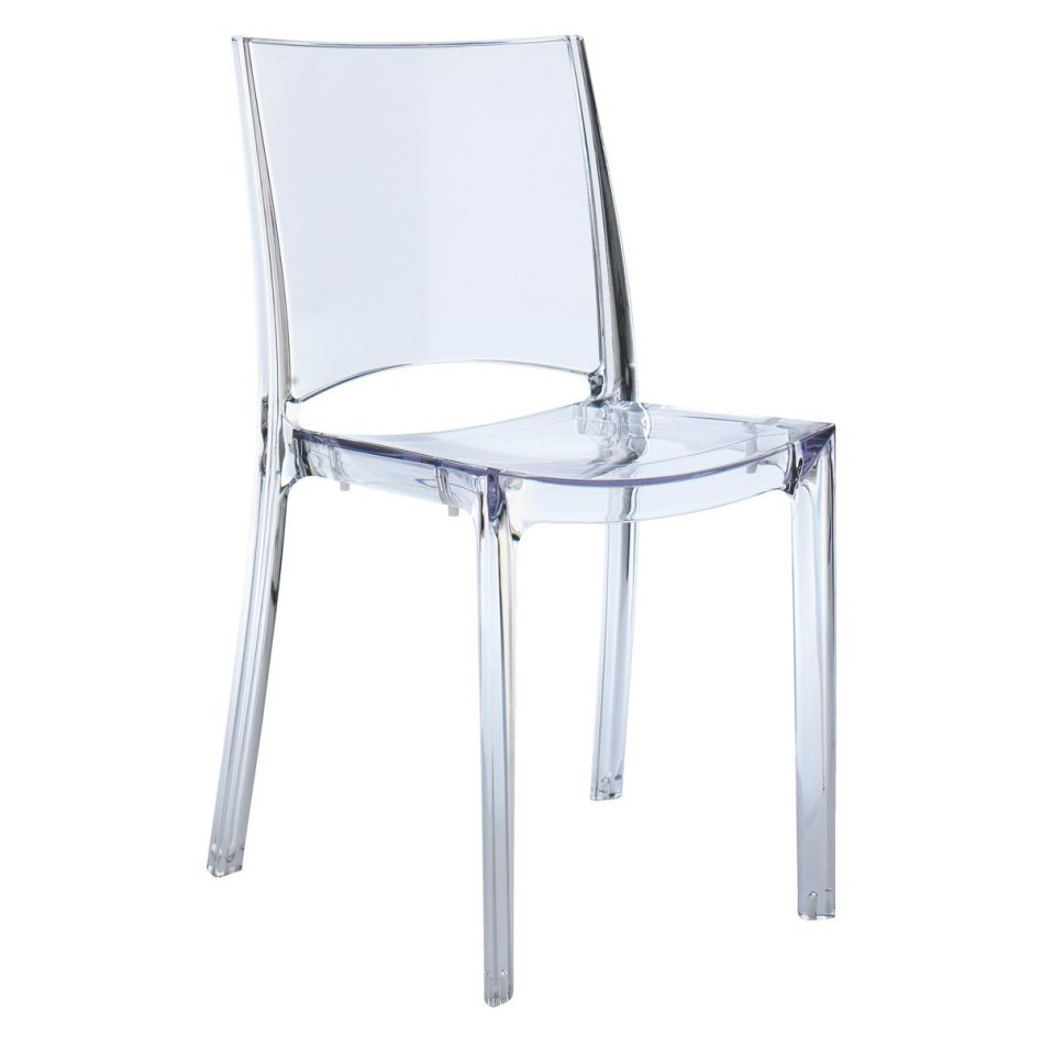 ikea clear chair