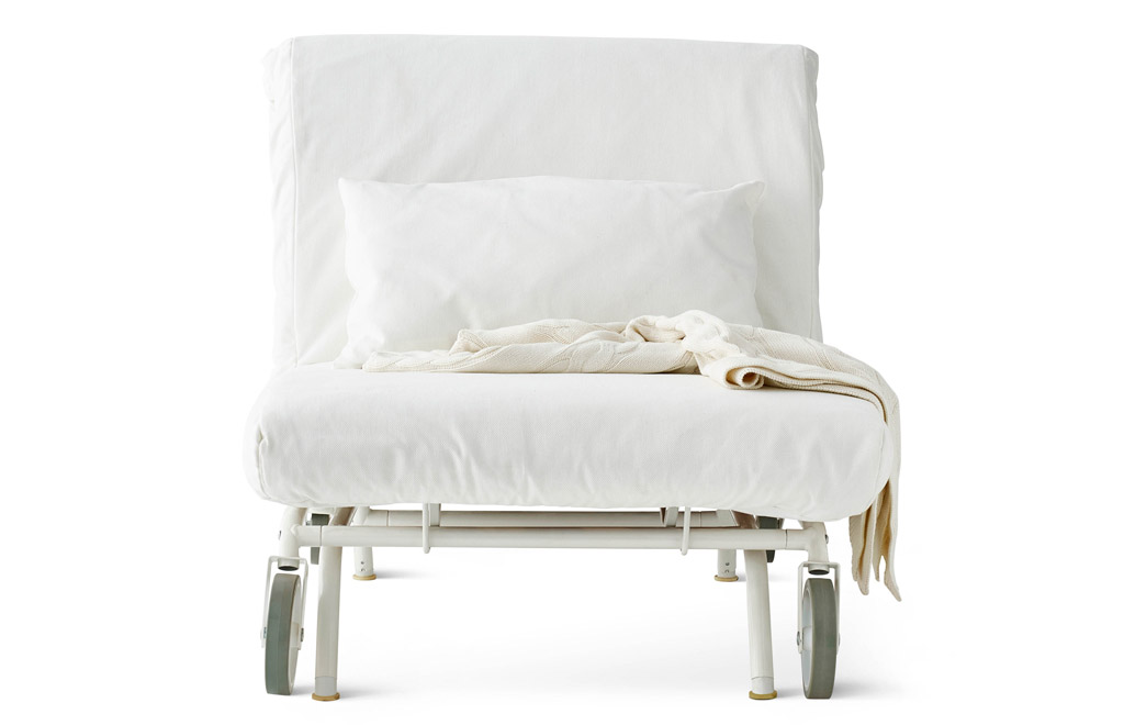 ikea white chair