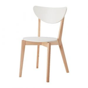 ikea white chair nordmyra chaise pe s