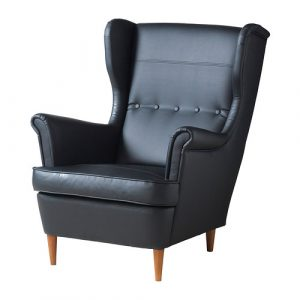 ikea wingback chair strandmon wing chair pe s