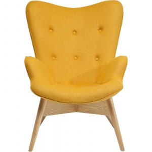 ikea yellow chair fauteuil retro angels wings jaune