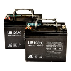 jazzy power chair parts jazzy battery pack set of u ah power chair batteries