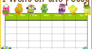 kids animal chair potty training chart