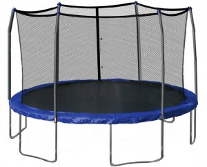 kids inflatable chair skywalker ft round trampoline e