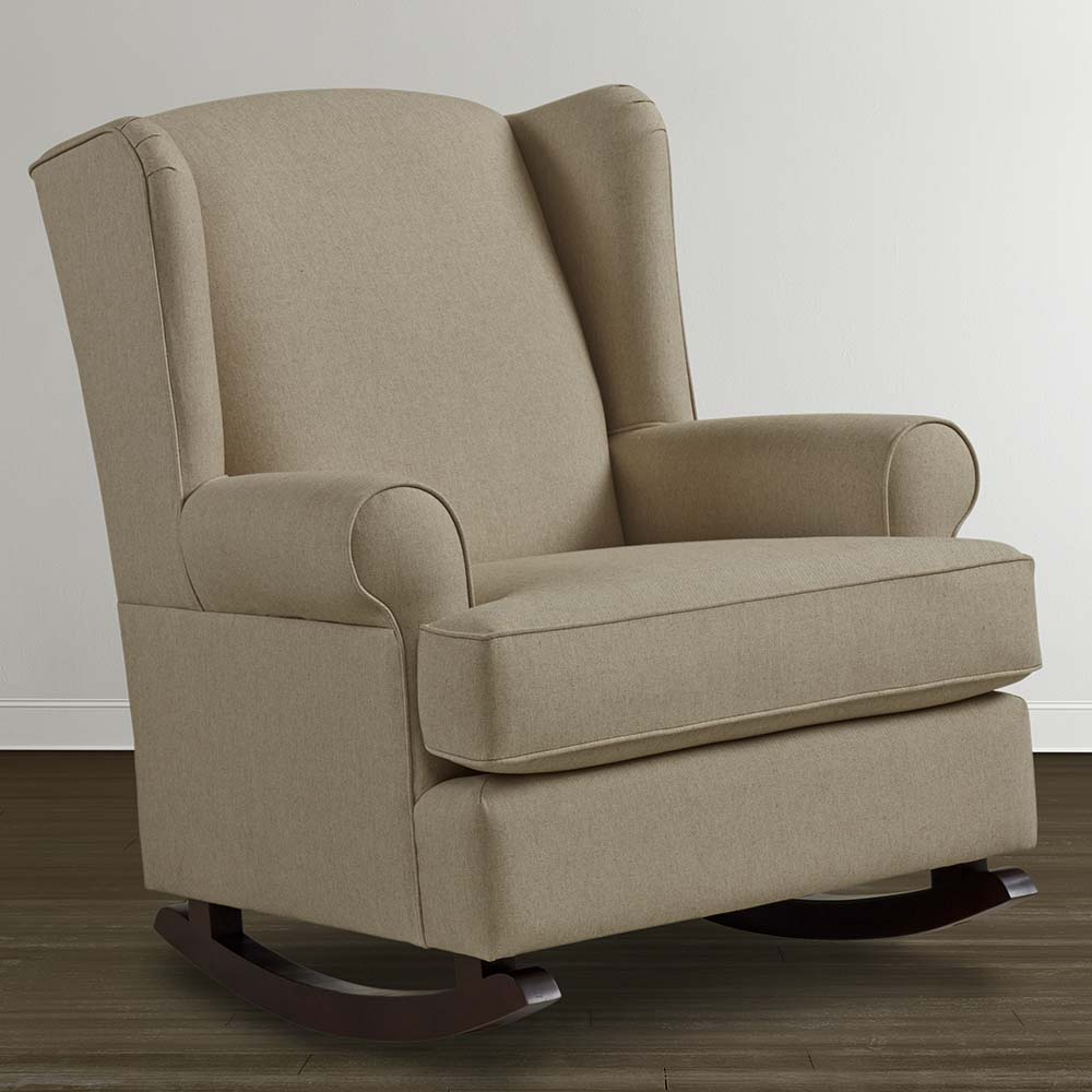 kids upholstered rocker chair