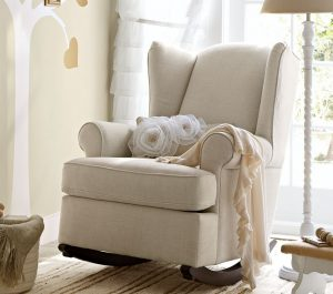 kids upholstered rocker chair media