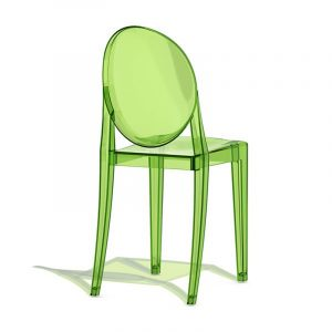kids upholstered rocker chair replica victoria ghost chair clear green