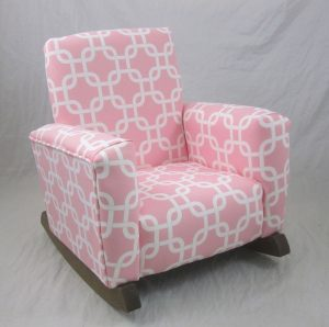 kids upholstered rocking chair s l